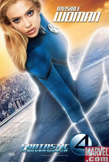 5 pósters más para 'Fantastic four: rise of the silver surfer'