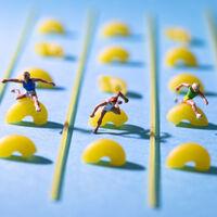 """Antes de inaugurarse los Juegos Olímpicos de Tokio ya se celebraron las miniolimpiadas en el """"mundo pequeñito"""" de David Gilliver"""