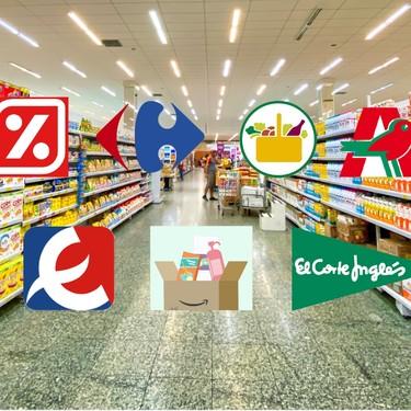 Comparativa de supermercados online: así es llenar el carro de la compra por internet en Carrefour, Mercadona, DIA y otras tiendas durante la cuarentena