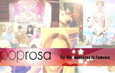Top ten: Las mejores imágenes de los famosos y sus mascotas