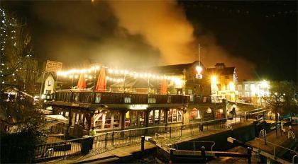 El incendio de Camden Market