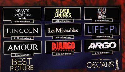 Las mejores películas de 2012: Las aspirantes al Oscar y sus opciones