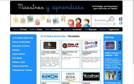 Maestros y aprendices es un directorio de empresas de Madrid que ofrecen actividades extraescolares para las familias