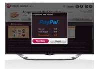 LG propone a Paypal para las compras en sus televisores