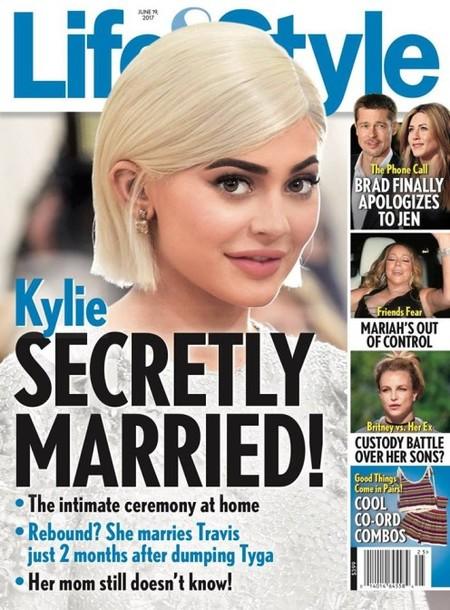 Kylie Jenner... ¿casada?