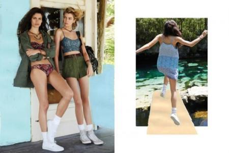 Urban Outfitters Near+Far catálogo Julio 2014 Sara Sampaio Stella Maxwell
