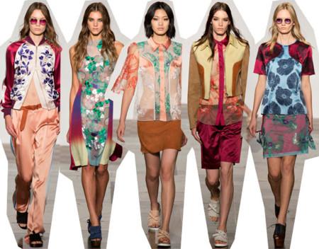 Jonathan Saunders Primavera Verano 2014 Semana de la Moda de Londres