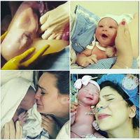 El increíble vídeo del nacimiento por cesárea de un bebé dentro de su saco amniótico