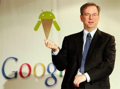 Eric Schmidt no ve fragmentación en Android, ve diferenciación
