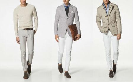 Pantalones blancas