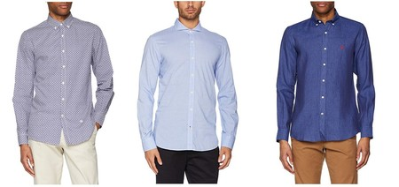 9 camisas de manga larga de la marca El Ganso por menos de 25 euros en Amazon