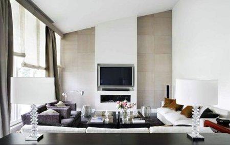 Un salón diseñado por Bondian Design