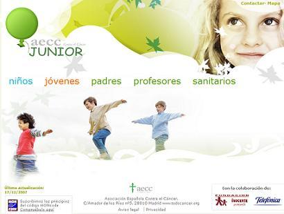 AECC Junior, una web que explica a los niños con cáncer su enfermedad