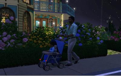 Let´s Baby: un sistema de seguridad vial para el cochecito del bebé