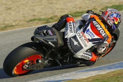 Las Honda de Pedrosa y Hayden vuelan en Jerez