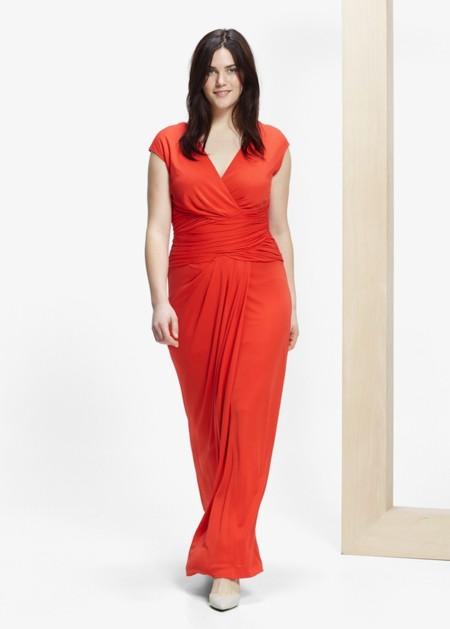Vestido Rojo Tallas Grandes