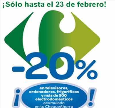 Carrefour, -20% en gran variedad de artículos