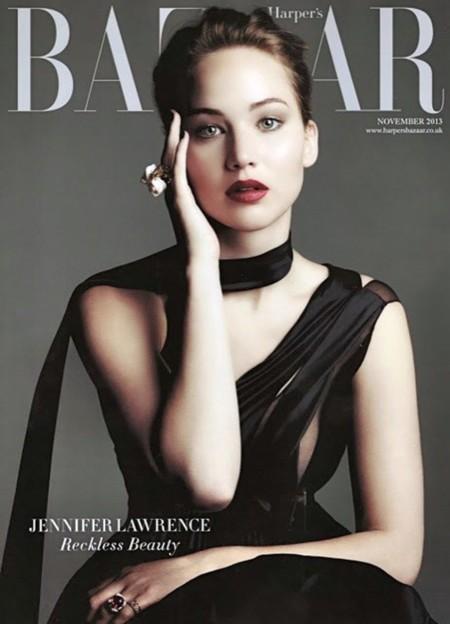¿Puede ser que Harper's Bazaar UK haya sacado guapa a Jennifer Lawrence?