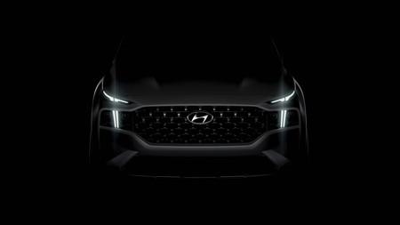 Hyundai Sante Fe 2021 Teaser
