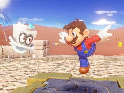 El nuevo gameplay de Super Mario Odyssey dedica más de diez minutos a su modo cooperativo para dos jugadores