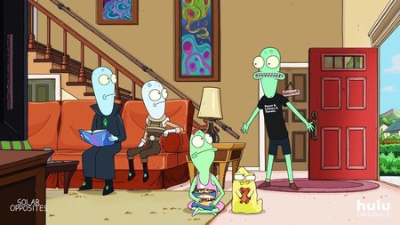 El trailer de 'Solar Opposites', la nueva serie de uno de los creadores de 'Rick & Morty', promete ciencia-ficción, delirio y mal gusto
