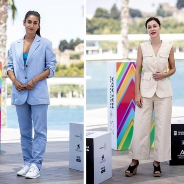 Candela Peña, Carolina Yuste y Ruth Díaz, el primer fin de semana del Festival de Málaga nos deja tres lookazos con tres estilos muy diferentes