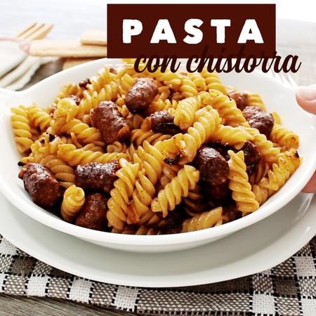 Pasta Chistorra