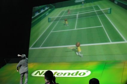 Tennis en la Wii