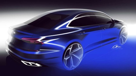Volkswagen Passat 2020 Teaser 3