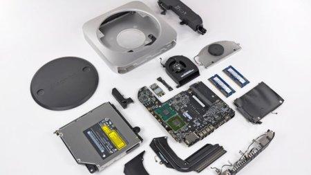 Las entrañas del nuevo Mac mini unibody