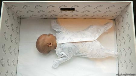 a86b3d06f Por qué los bebés de Finlandia duermen en una caja de cartón