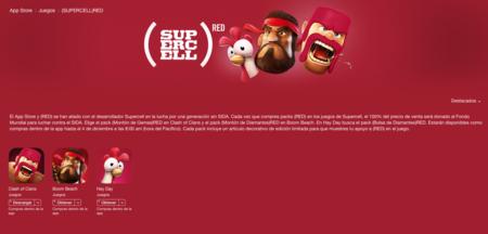 Apple prepara una campaña por el día mundial contra el SIDA junto al desarrollador SuperCell