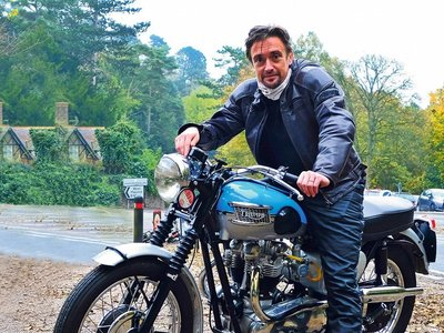 Richard Hammond sufre un accidente de moto en Mozambique grabando The Grand Tour