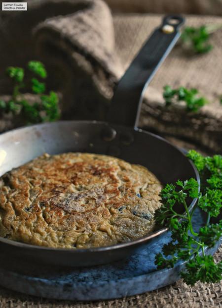 Tortilla de patatas sabor trufa