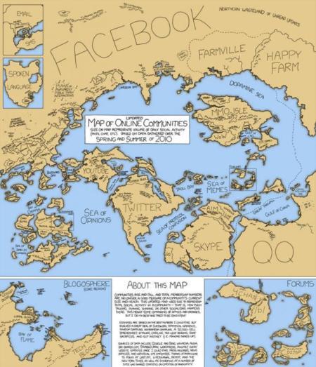 Mapa de comunidades Online