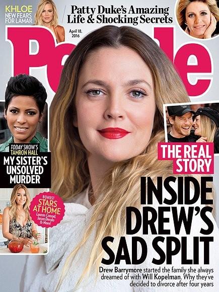Drew Barrymore a la de una...