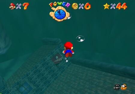 Super Mario 64: cómo conseguir la estrella Plunder in the Sunken Ship de Jolly Roger Bay