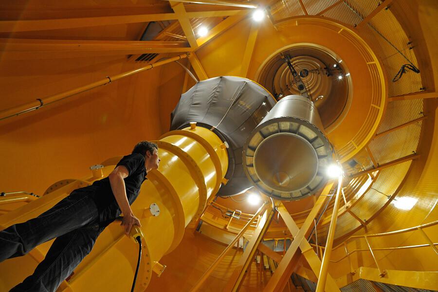 El truco para alcanzar la temperatura más baja jamás creada (38 picoKelvin) ha sido lanzar el experimento por una torre de 120 metros