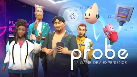 Conviértete en desarrollador de videojuegos jugando a 'Probe: A Game Dev Experience': hablamos con el laboratorio español detrás de este título