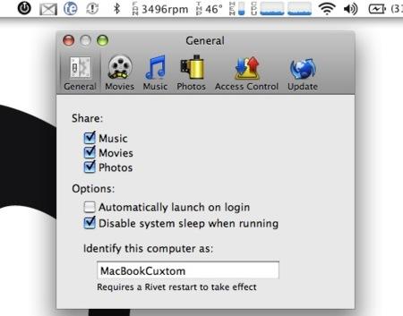 Rivet: accede a las fotos, música o vídeos de tu Mac desde la XBOX 360