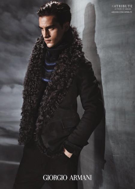 Aleksandar Rusic Giorgio Armani Fw 2015 Campaign 006