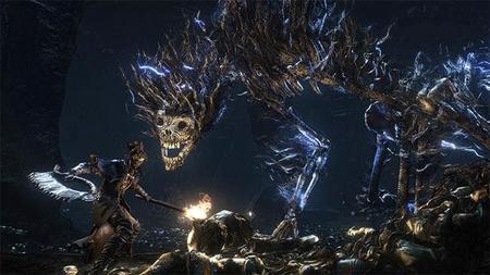 El tamaño de los enemigos de Bloodborne empieza a ser un poco preocupante
