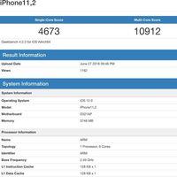 Aparecen benchmarks de un supuesto iPhone con procesador 'A12'