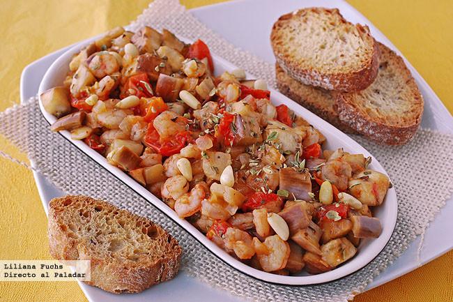 Primeros platos dieta mediterranean