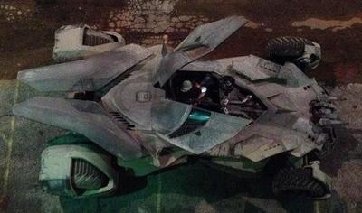 Así es el nuevo Batmóvil