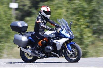 BMW R 1200 RS, prueba (conducción en autopista y pasajero)