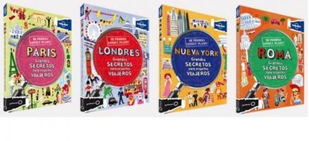 """""""Mi primera Lonely Planet"""", guías de viaje para niños"""