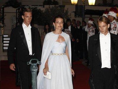 La Familia Real monegasca se viste de Gala para la cena oficial