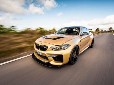 Manhart BMW M2: más potente que un Huracán, un California T o un R8 V10 Plus