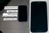 Motorola Atrix 3 también está en el horno, con Nvidia Tegra 3